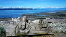 Kunst am Strand, Campbell River